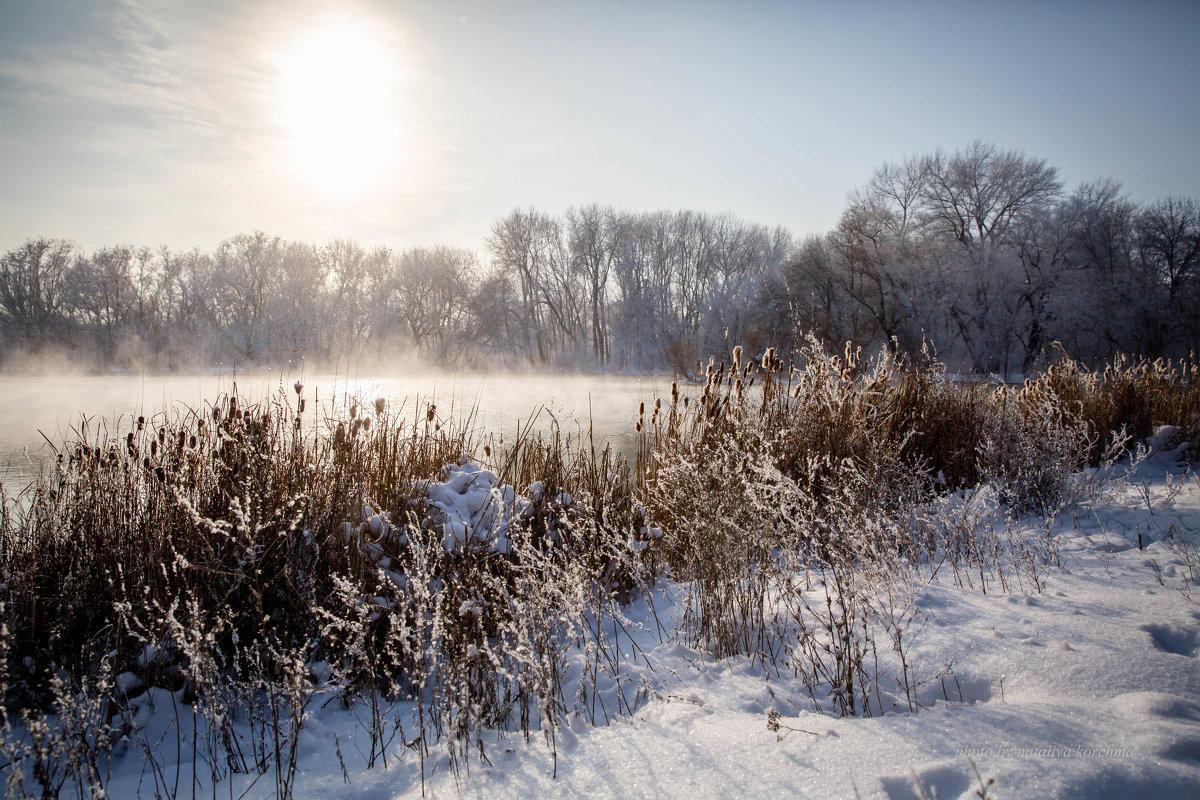 Зимний пейзаж. - nataliya korchma