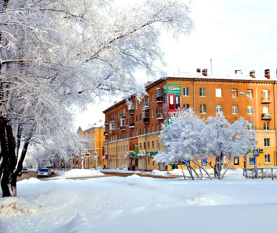 Снежный город - Кулага Андрей Андреевич
