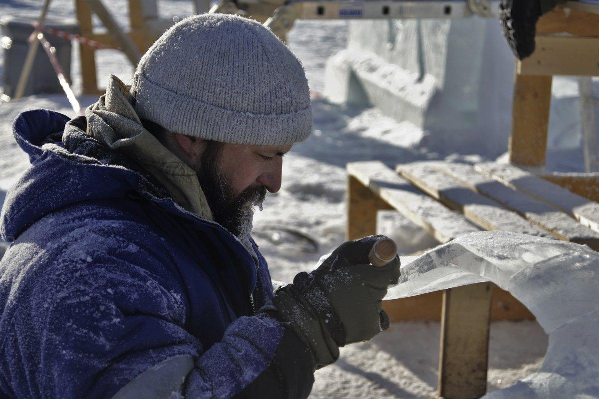 Международный конкурс ледовых скульптур в г. Хабаровске - Николай Сапегин