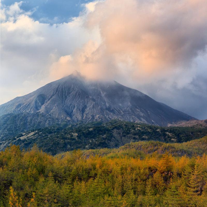 Действующий вулкан Сакурадзима - Nataliya Barinova