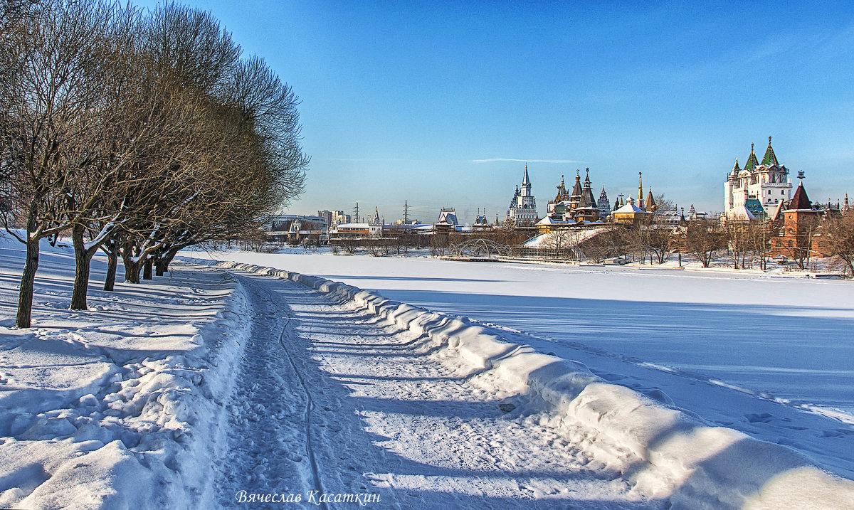 Зимняя Москва. Измайловский остров. Фото 4. - Вячеслав Касаткин