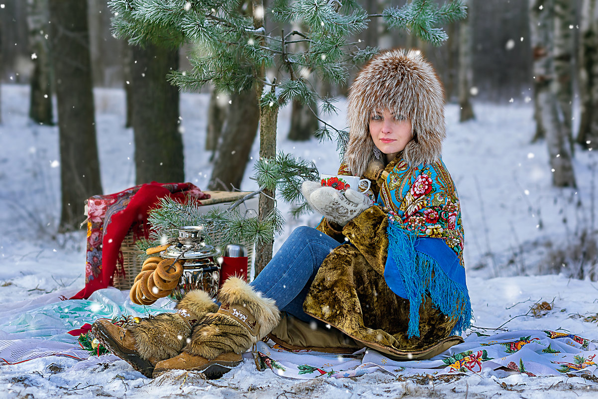 Зимняя красавица - Виктор Седов