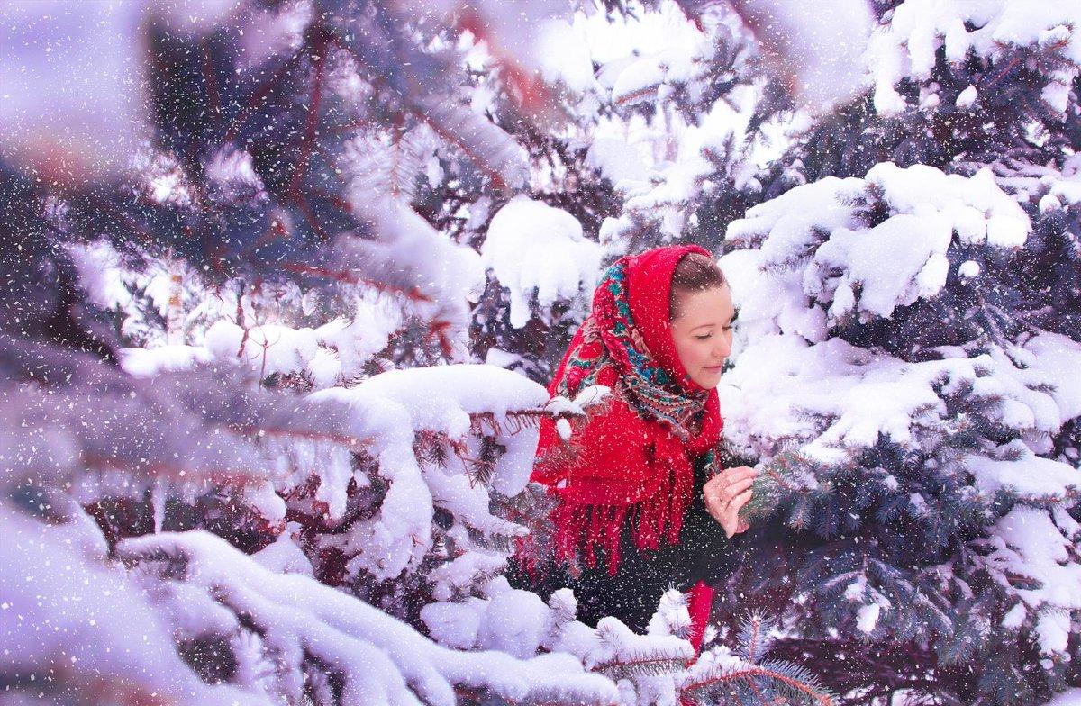 Снежное настроение - Анжелика Веретенникова