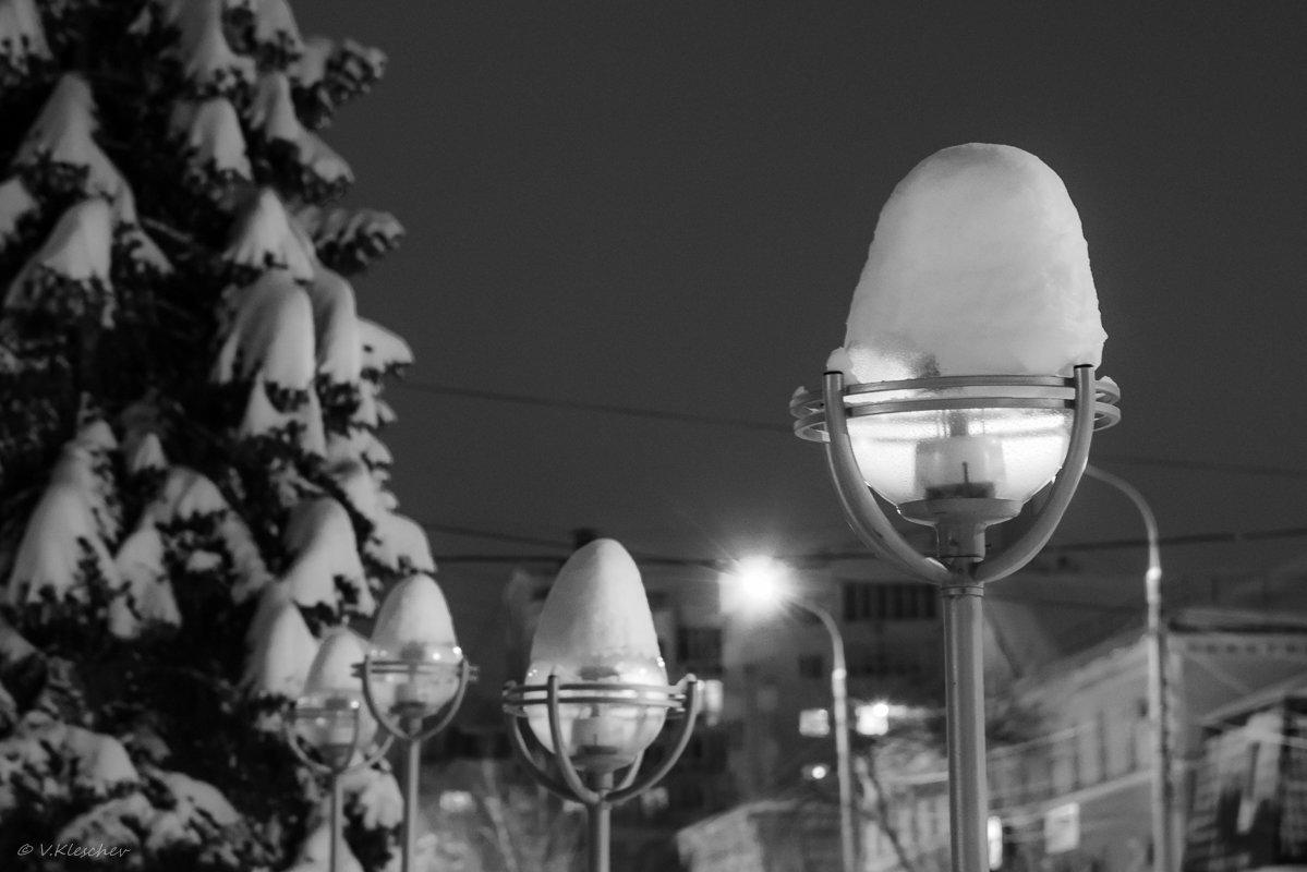Следы снегопада - Владимир Клещёв