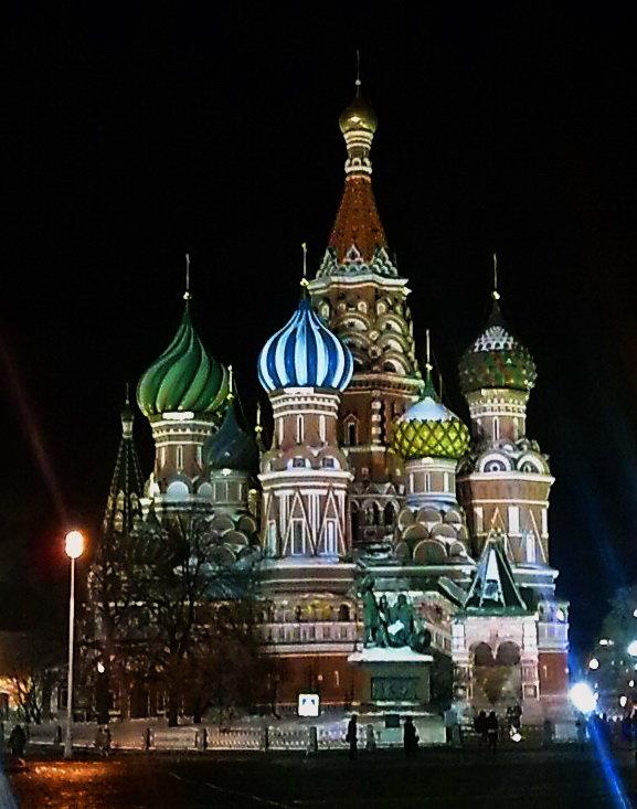 На рву у места лобного,у церкви Покрова..... - Galina Leskova