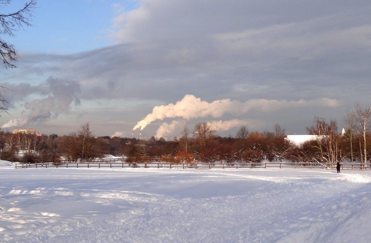 городские облака.. - Валентина. .