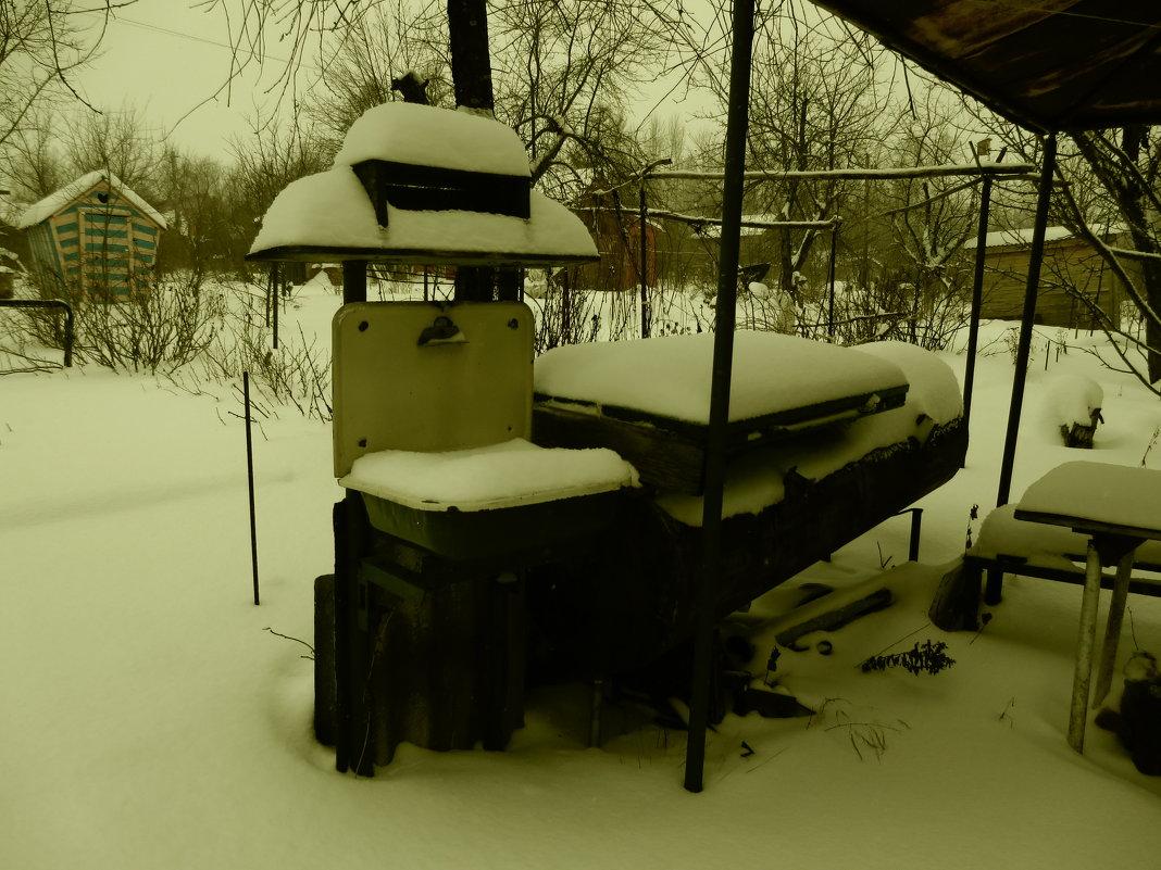 Зима на даче - Сергей Воронков