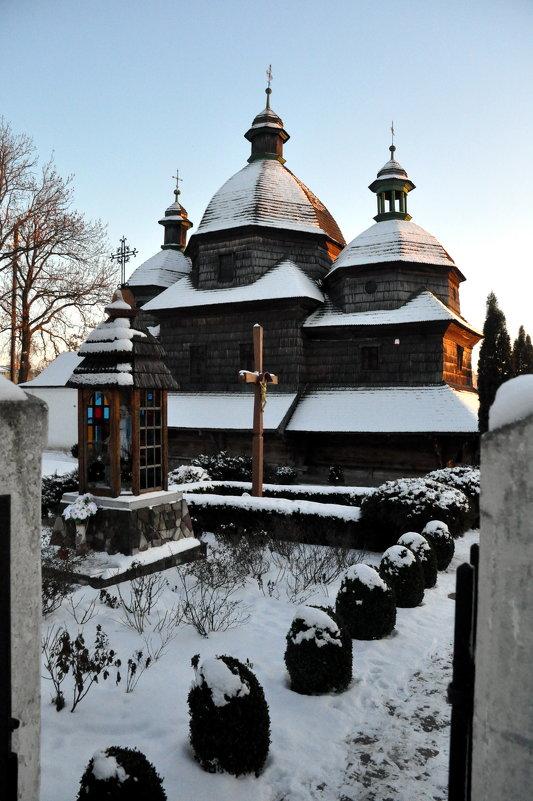 Храм из дерева - Богдан Вовк