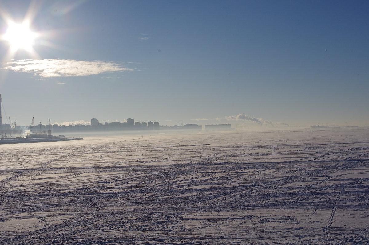 Зимний Финский залив - Марина Сорокина