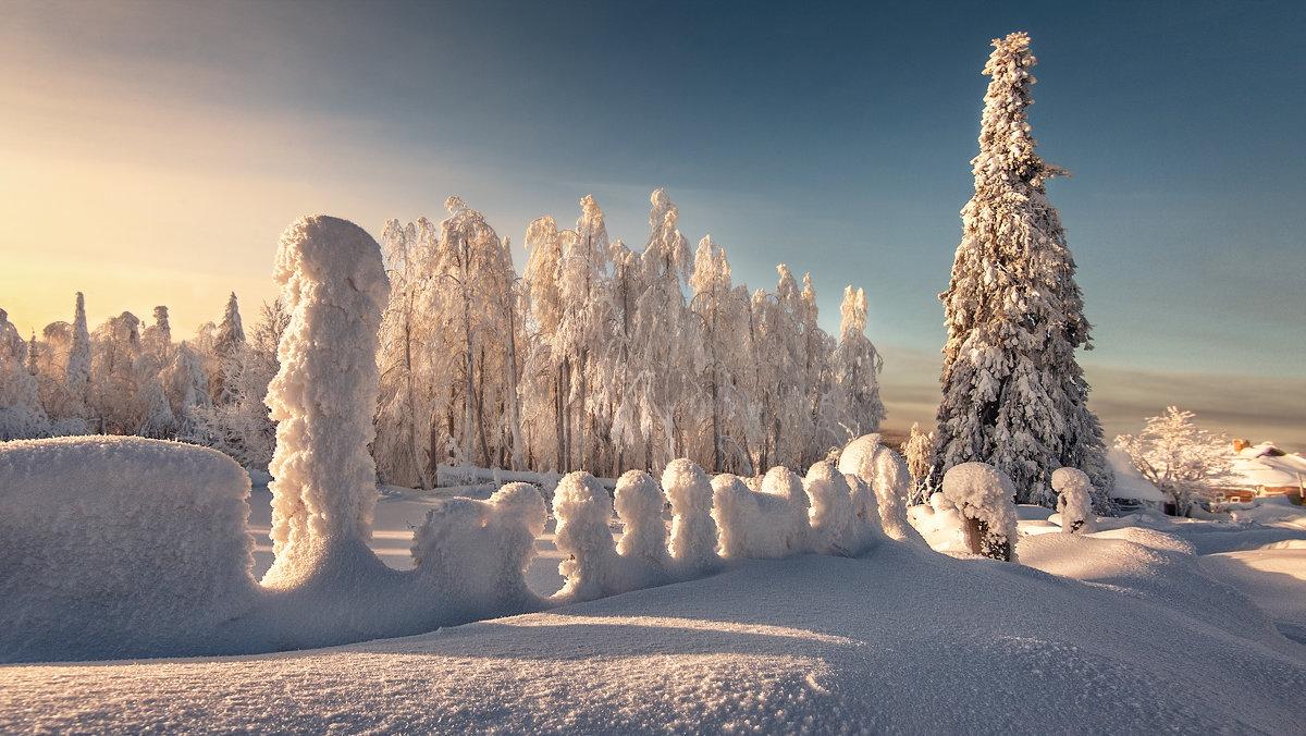Кудесница зима - Владимир Чуприков