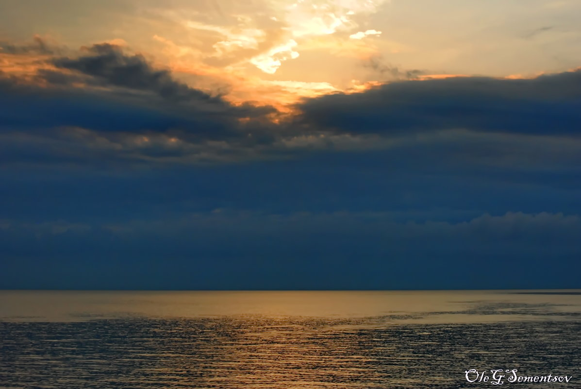 Чёрное море!!! - Олег Семенцов