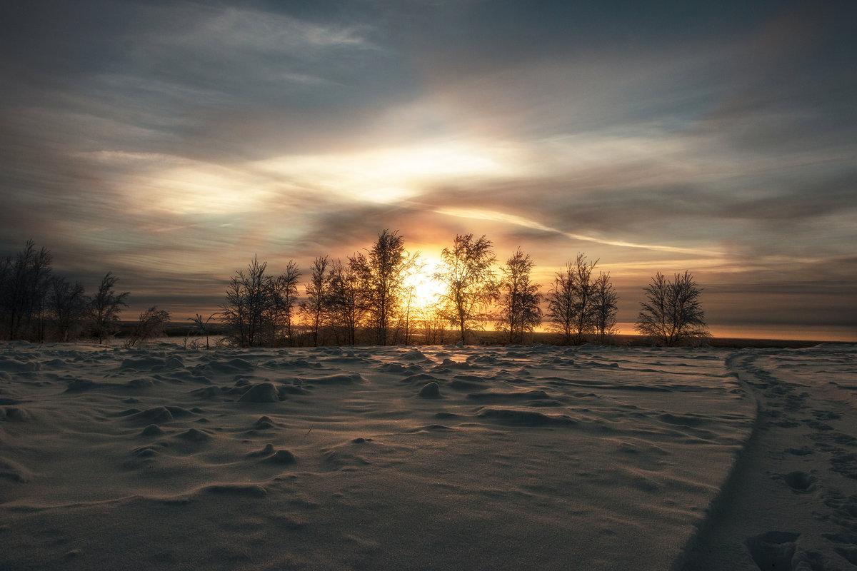 Зимнее вечернее - Светлана