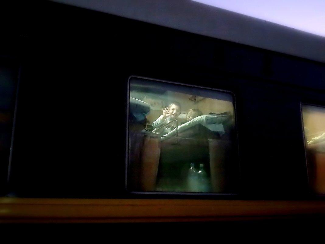 Глядим мы в окошко вагонное - Геннадий Храмцов