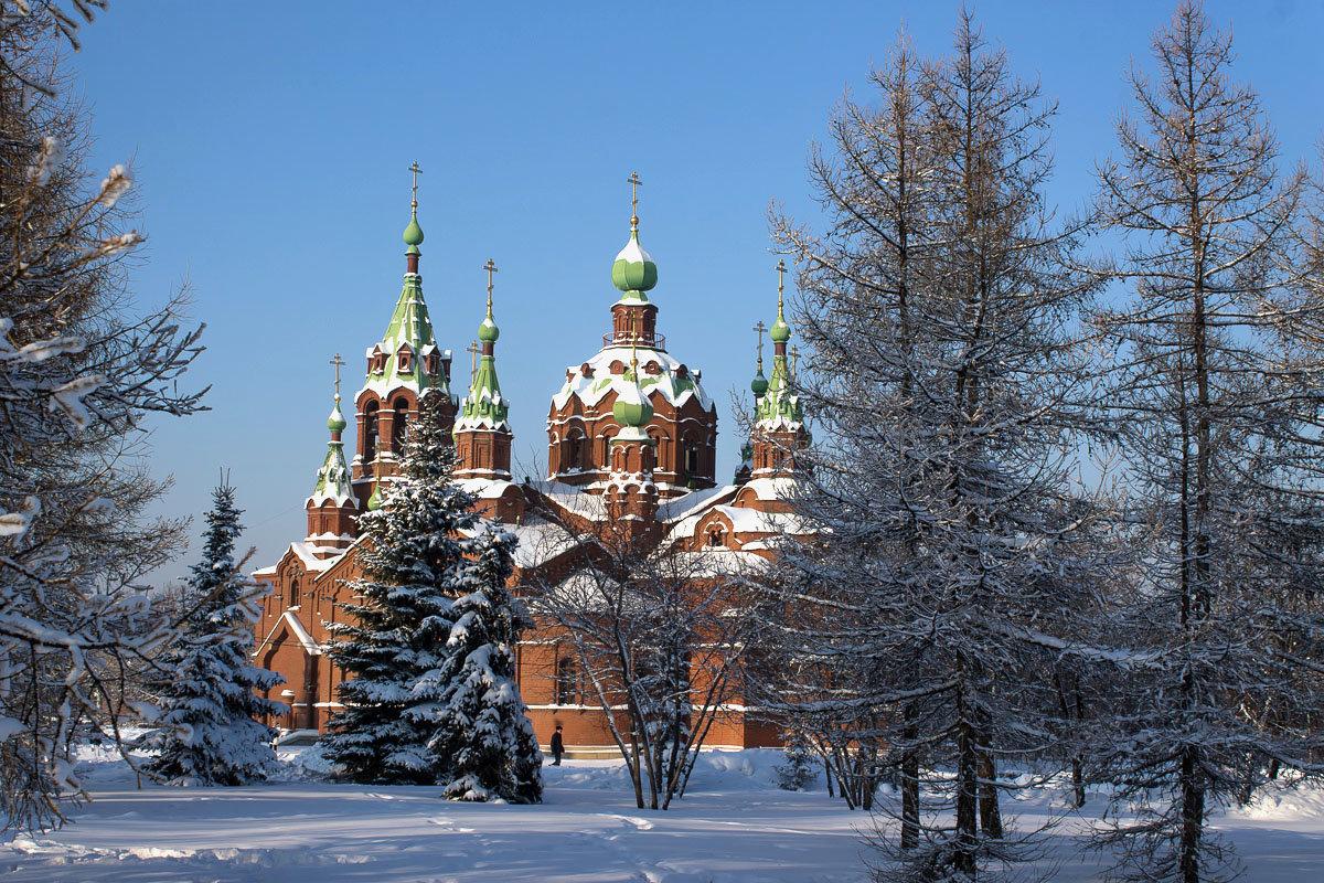 """Заметало снегом маковки церквей..."" )) - Надежда"