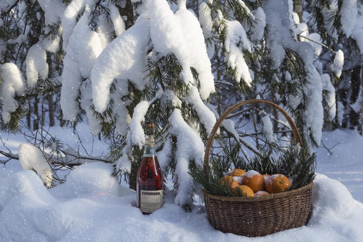 Натюрморт в зимнем лесу... - Наталья