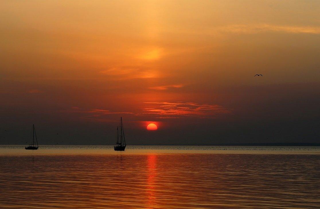Утомлённое солнце нежно с морем прощалось.. - Нилла Шарафан