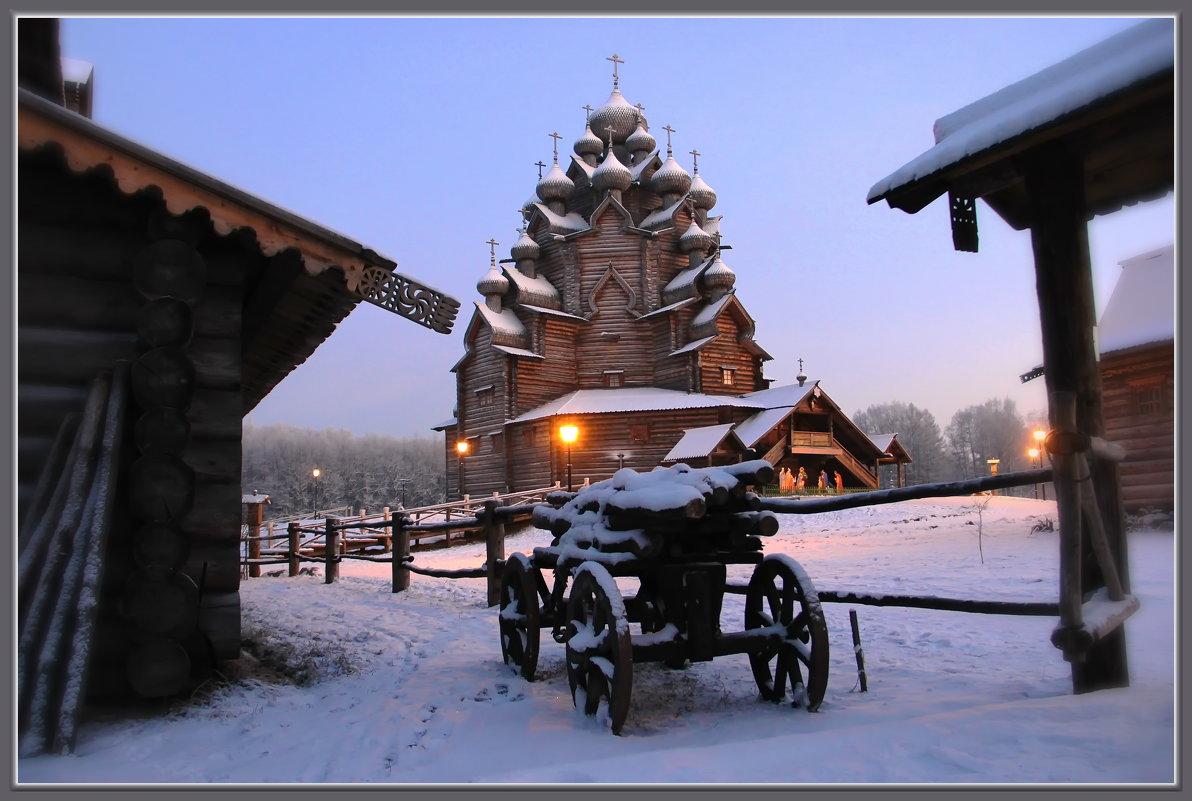 Це́рковь во и́мя Покрова́ Пресвято́й Богоро́дицы - Сергей Андриянов