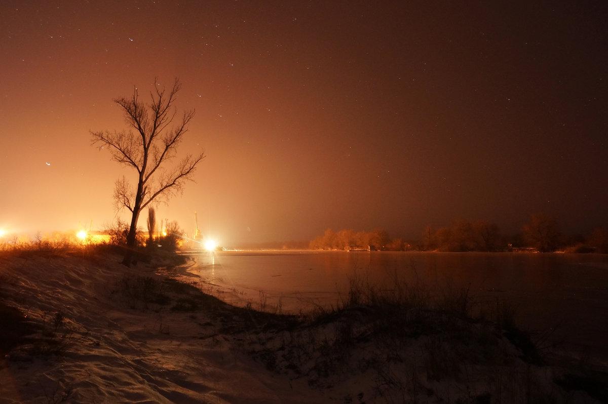 Январская ночь - Алексей Салло