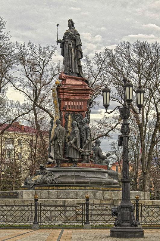 Памятник Екатерине II (Краснодар) - Игорь Хижняк