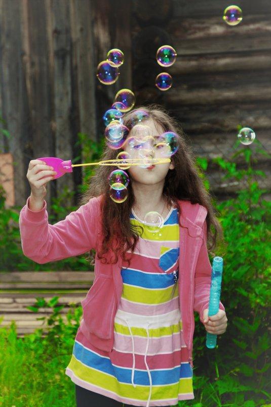 мыльные пузыри - Анастасия Алёшина