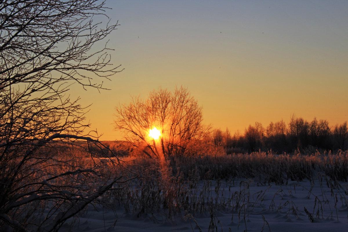 Северный закат - Евгений Карелин