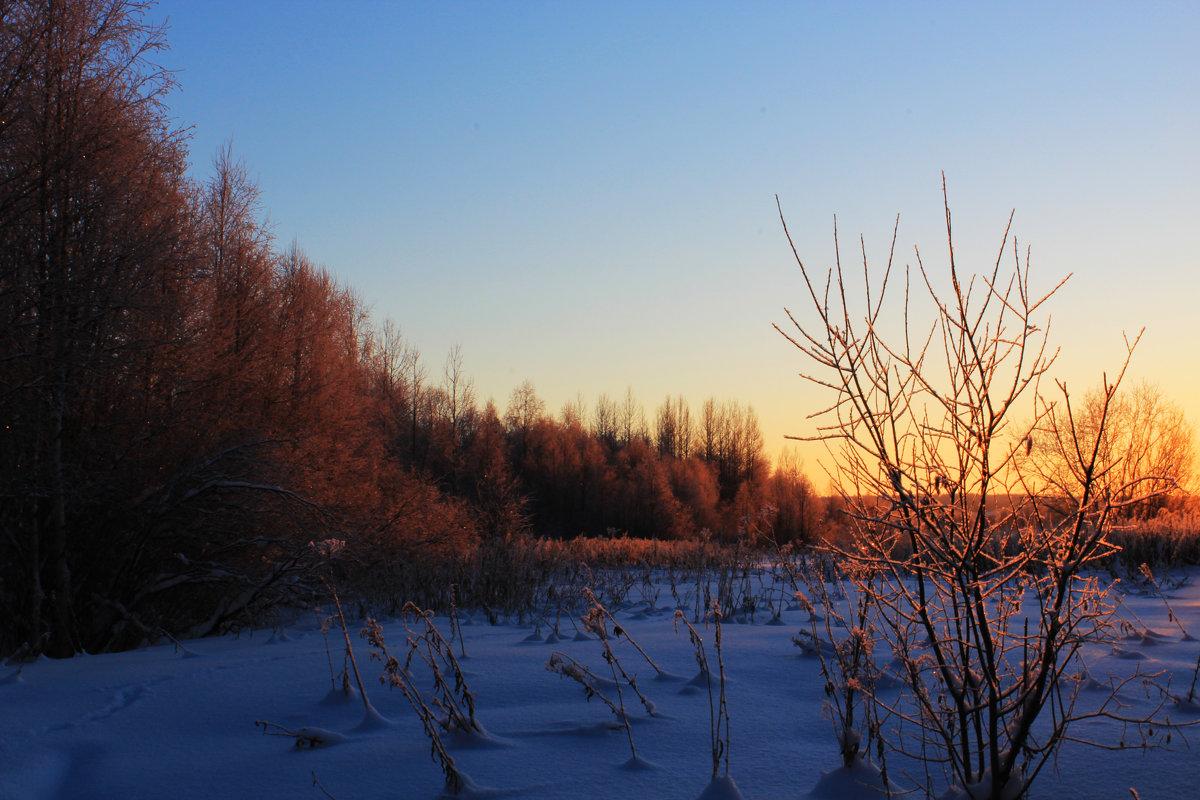 На закате - Евгений Карелин