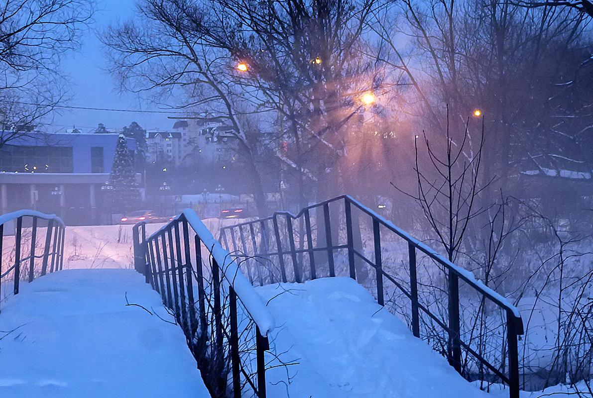 морозный вечер - Galina