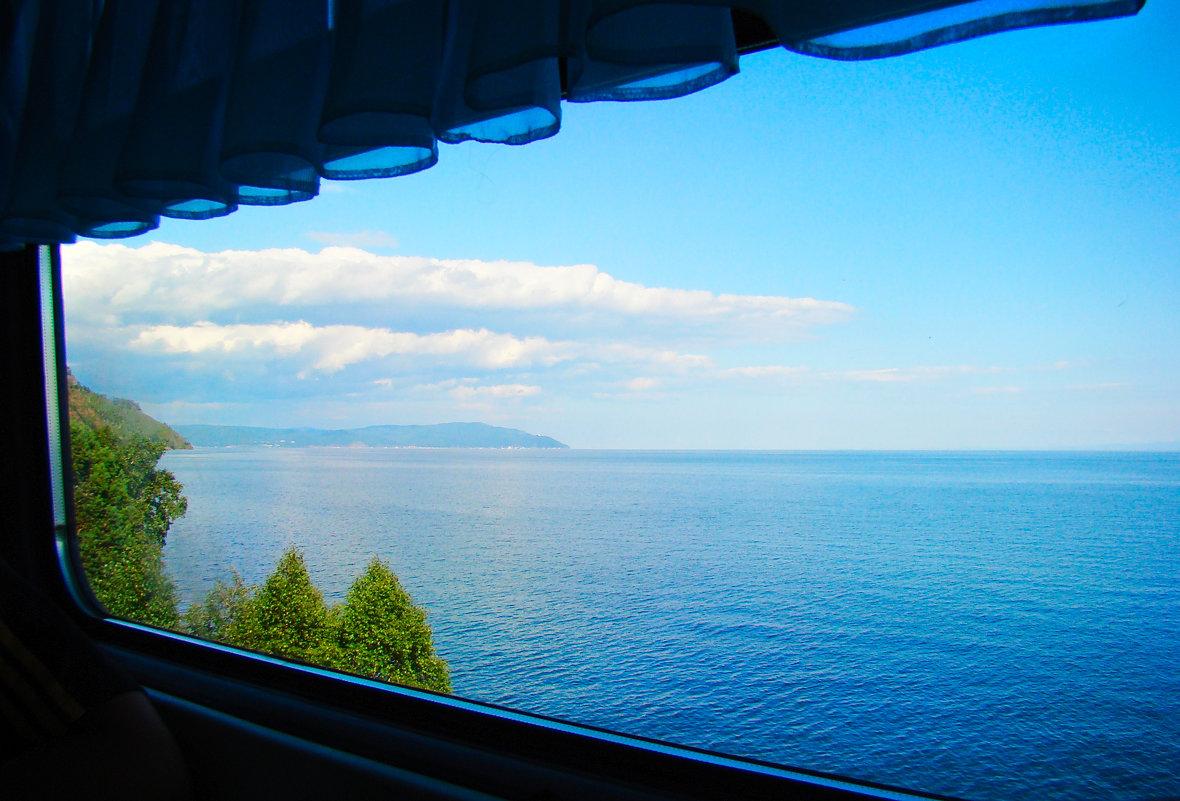 Байкал из окна поезда - vladimir Egoshin
