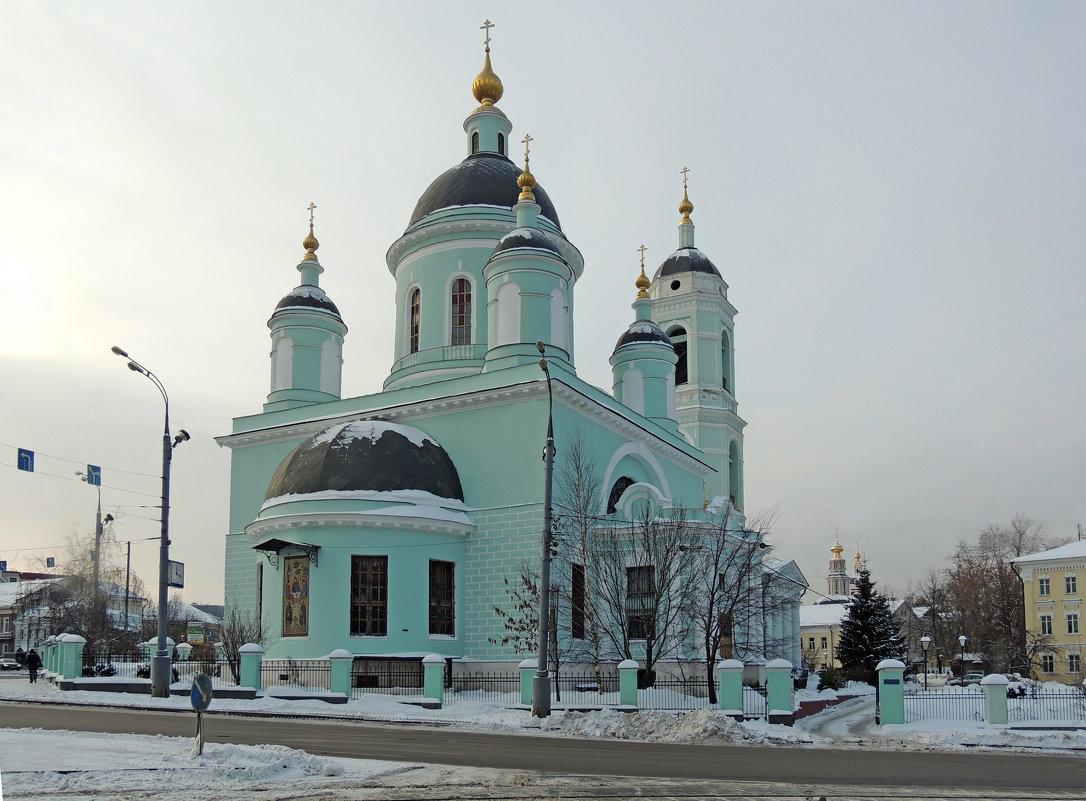 Церковь Сергия Радонежского (Троицы Живоначальной) в Рогожской слободе - Александр Качалин