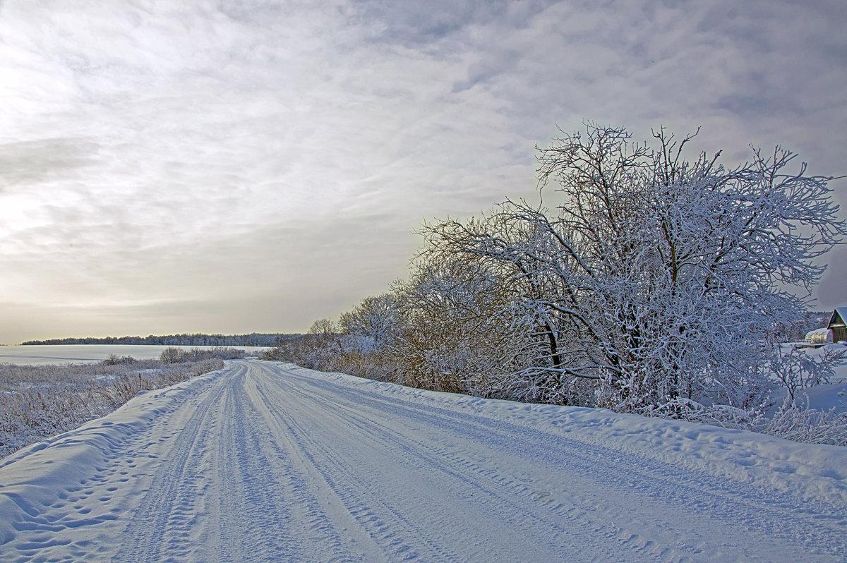 Зимний пейзаж - Ольга Осовская