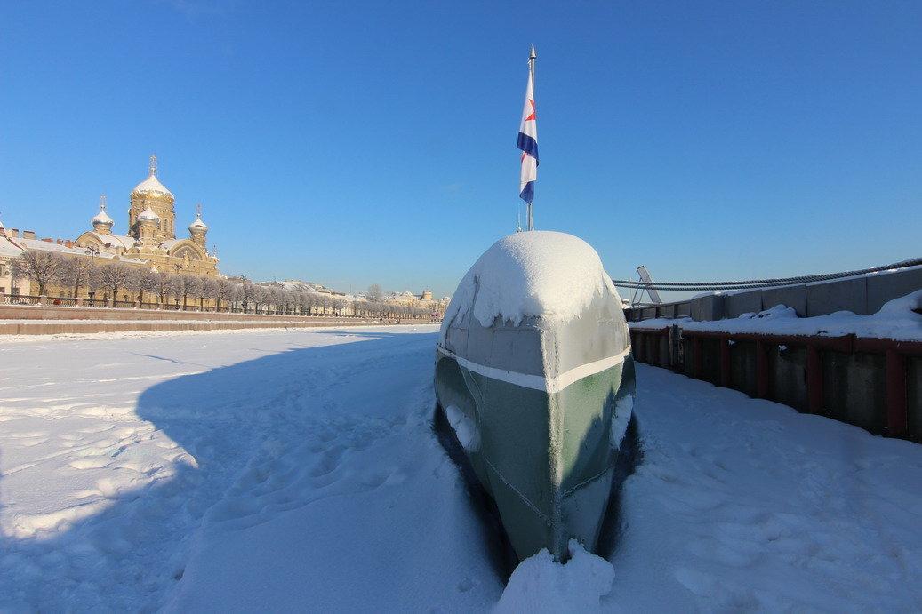 Прогулки по льду. Подводная лодка - Вера Моисеева
