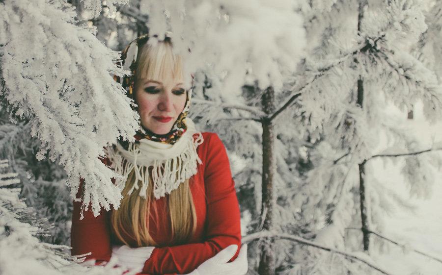зима - Александра Голоскова