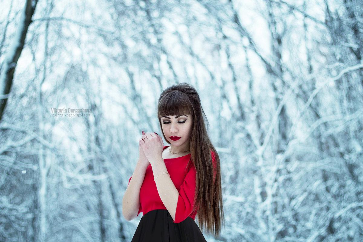 В серебряном лесу - Виктория Дергачёва