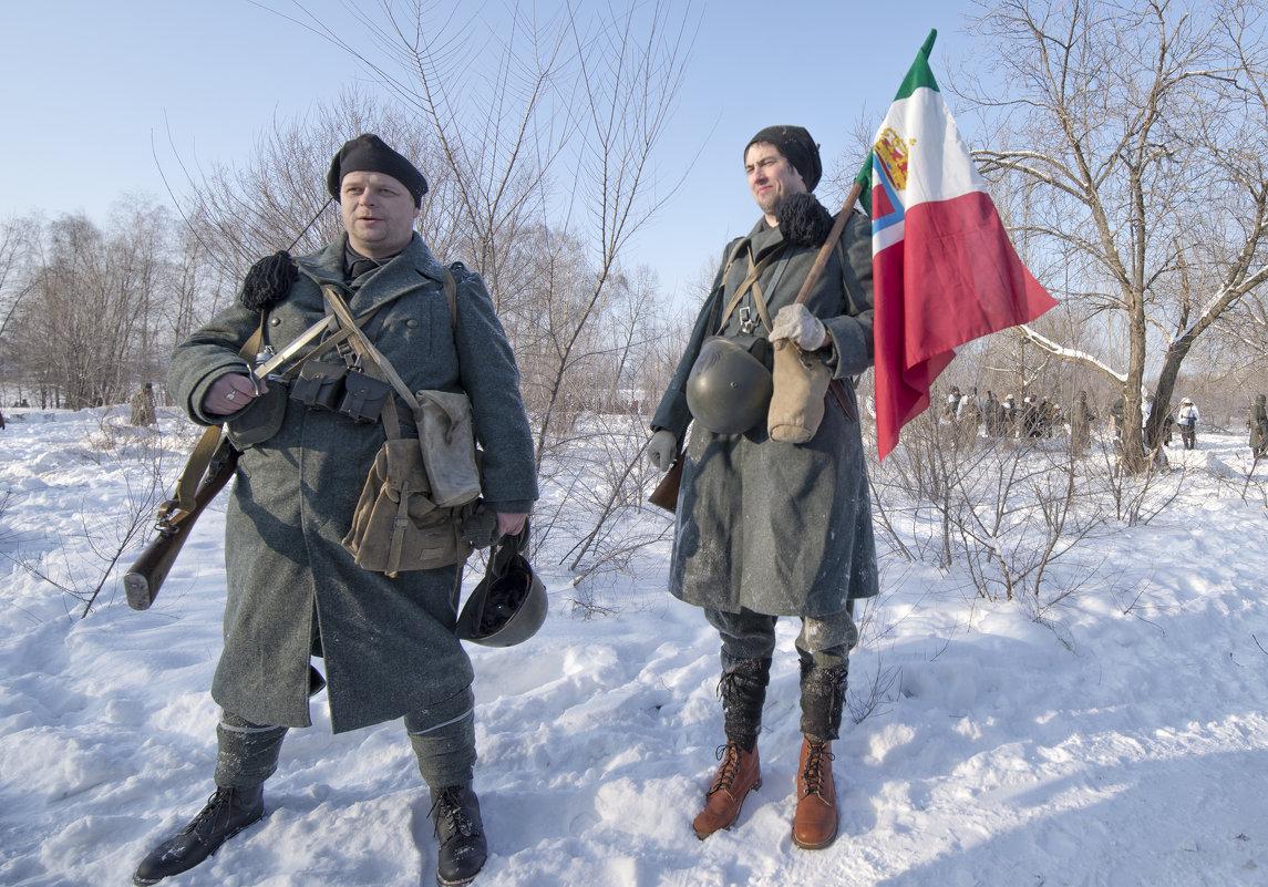 Итальянцы  в Великую Отечественную - Юрий Никульников