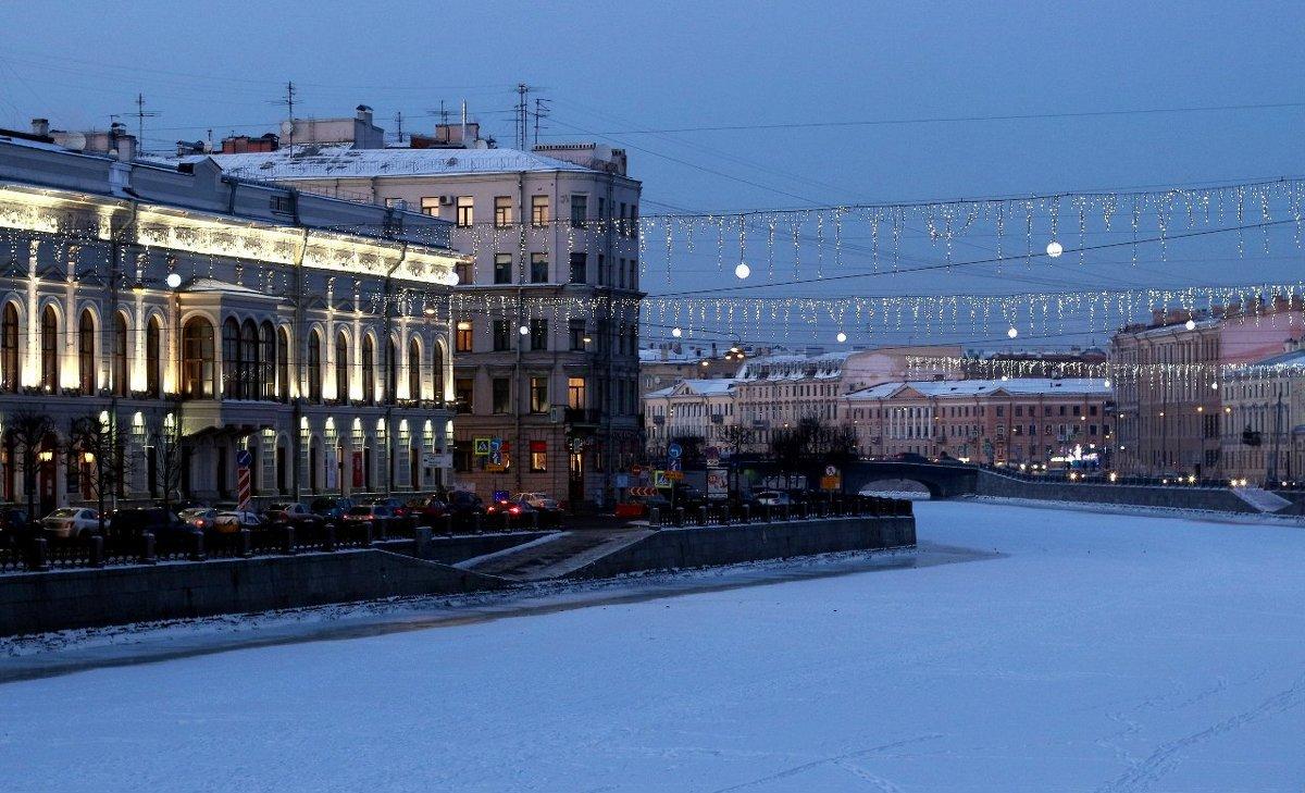 Вид со стороны р. Фонтанки на Шуваловский дворец - Елена Павлова (Смолова)