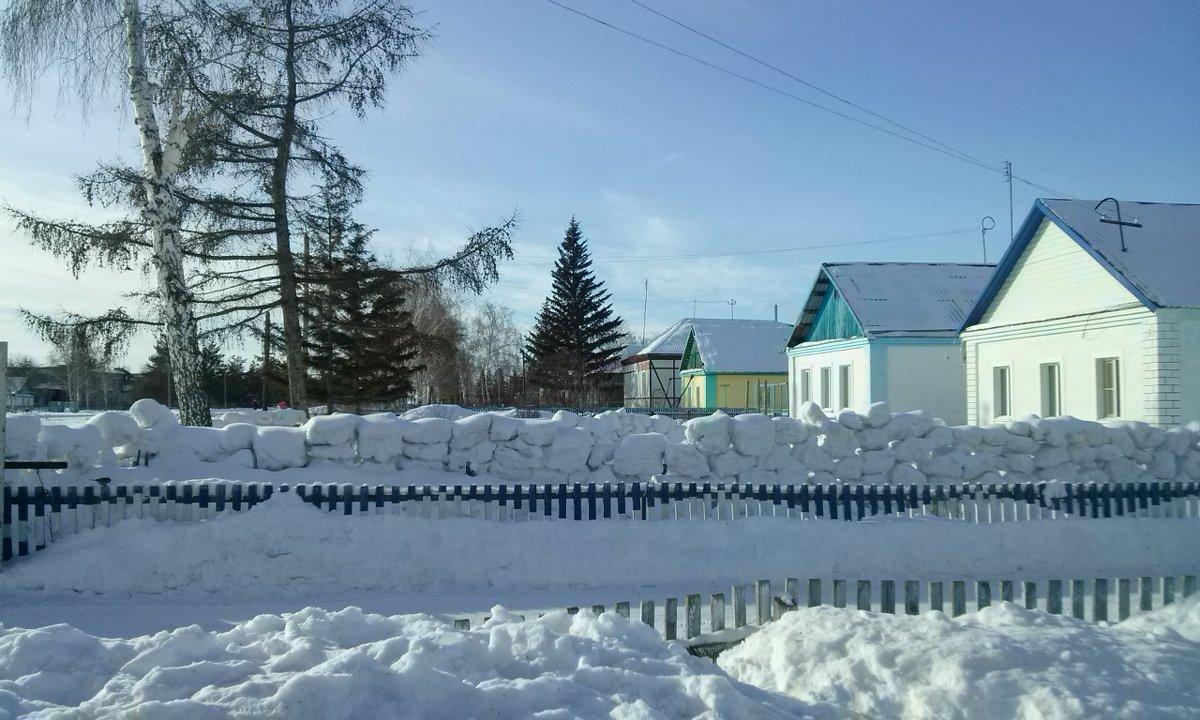 Снежный забор - Kira Martin