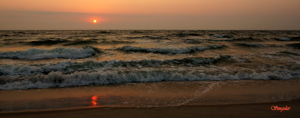 Sunset. - Tatiana Golubinskaia