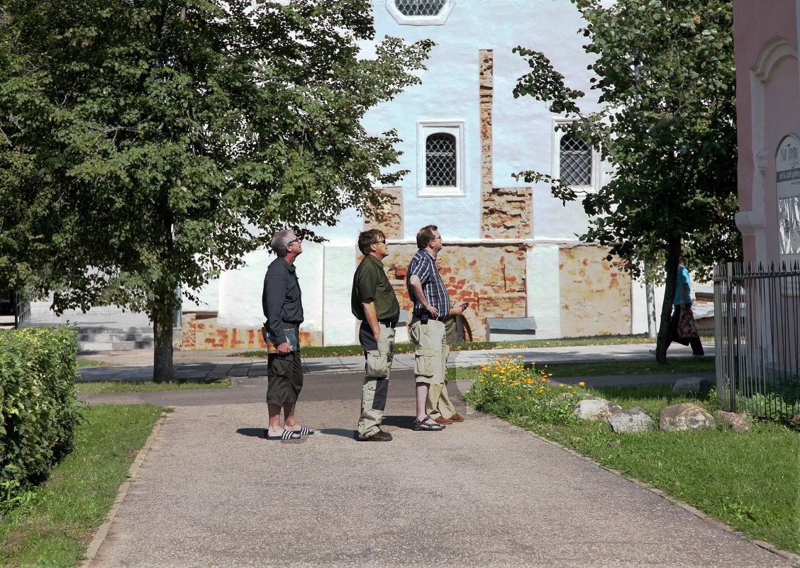 Мужчины... Новгород - Наталья