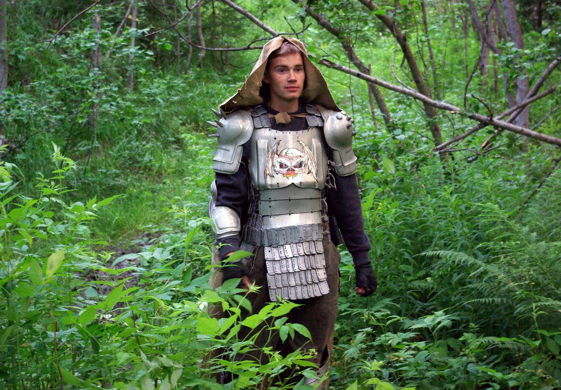 Бродят рыцари по лесу - Валентин Кузьмин