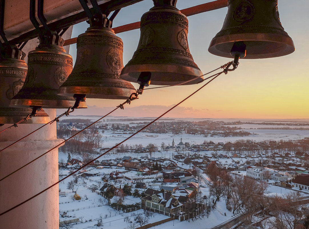 колокола Преподобенской колокольни - Наталья Рыжкова
