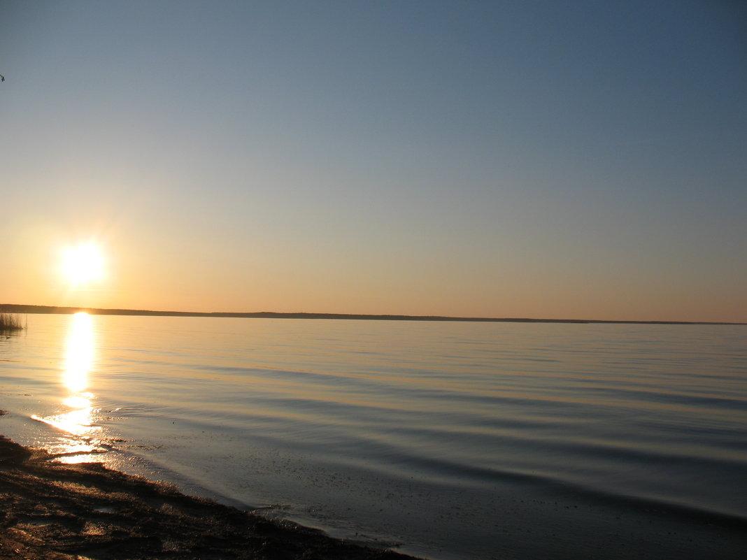 утро на ладоге - геннадий щербак