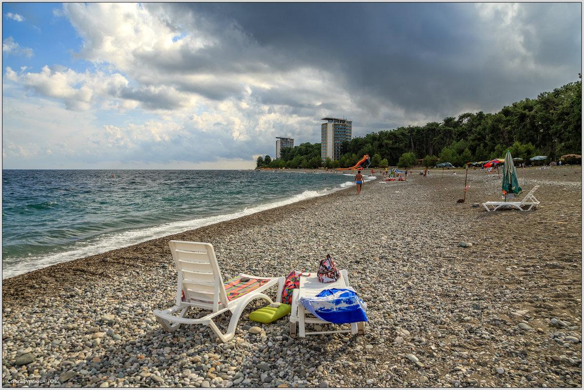 Тихий пляж - Сергей Бережко