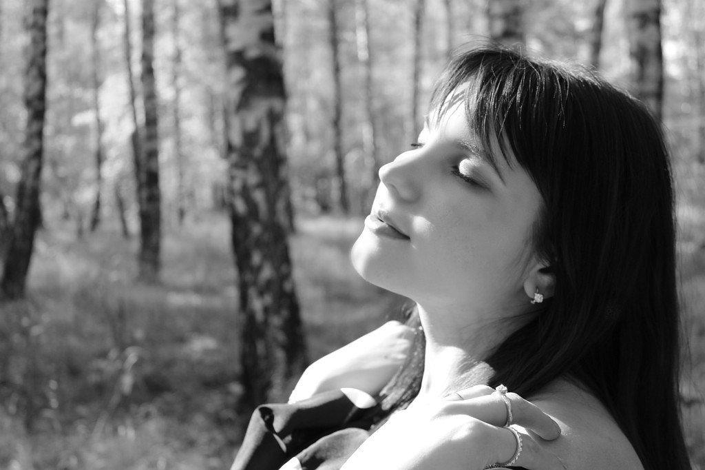 наедине с природой... - Олеся Рогулёва