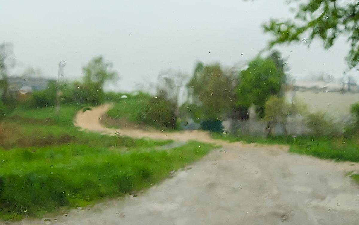 Дождливый пейзаж. - igor