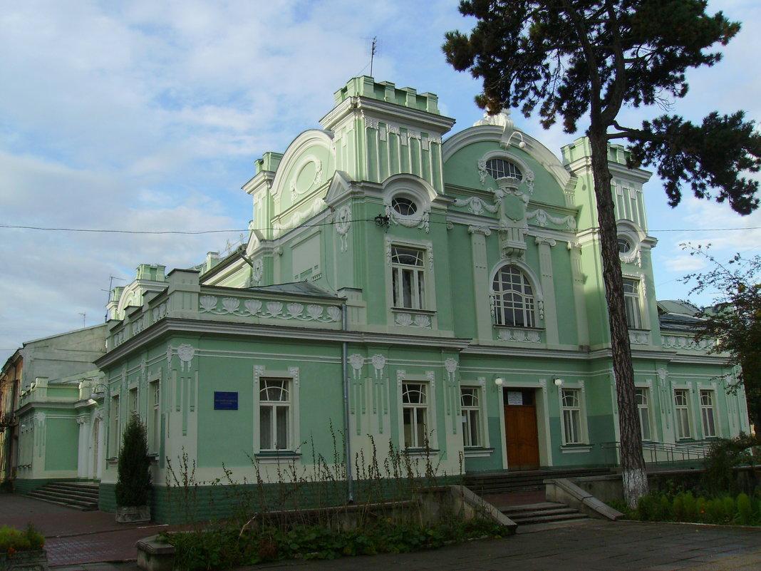 Дом  культуры  в  Стрыю - Андрей  Васильевич Коляскин