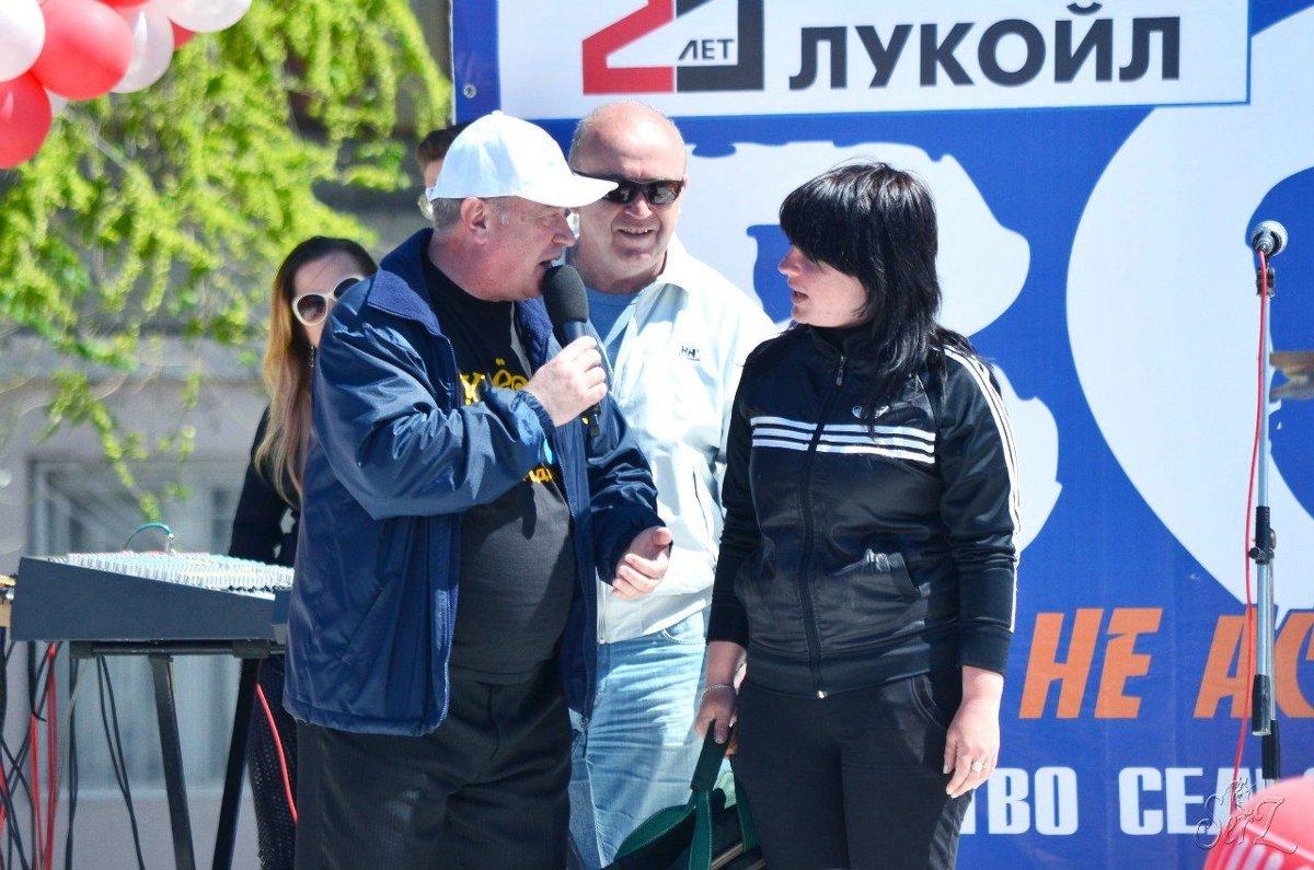 Татьяна Авдеева - победитель среди женщин. - Александр Владимирович Никитенко