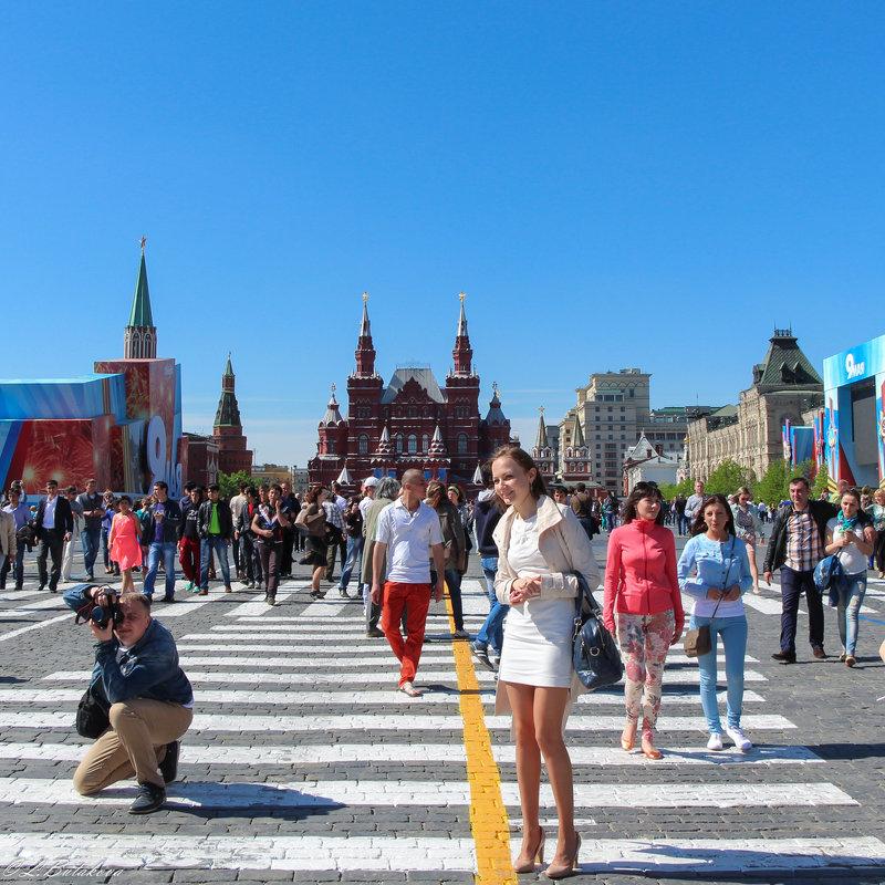 День Победы в Москве - Любовь Бутакова