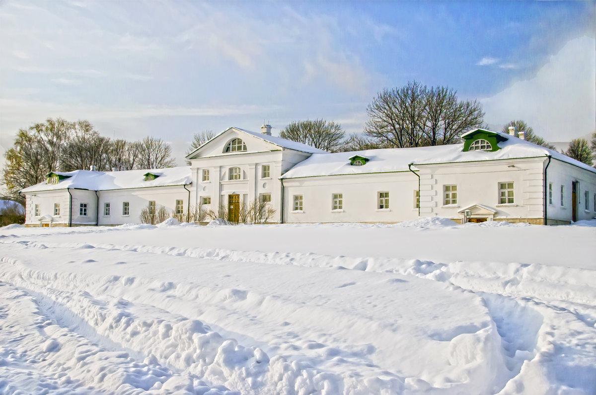 Зима в Ясной поляне - Елена Чижова
