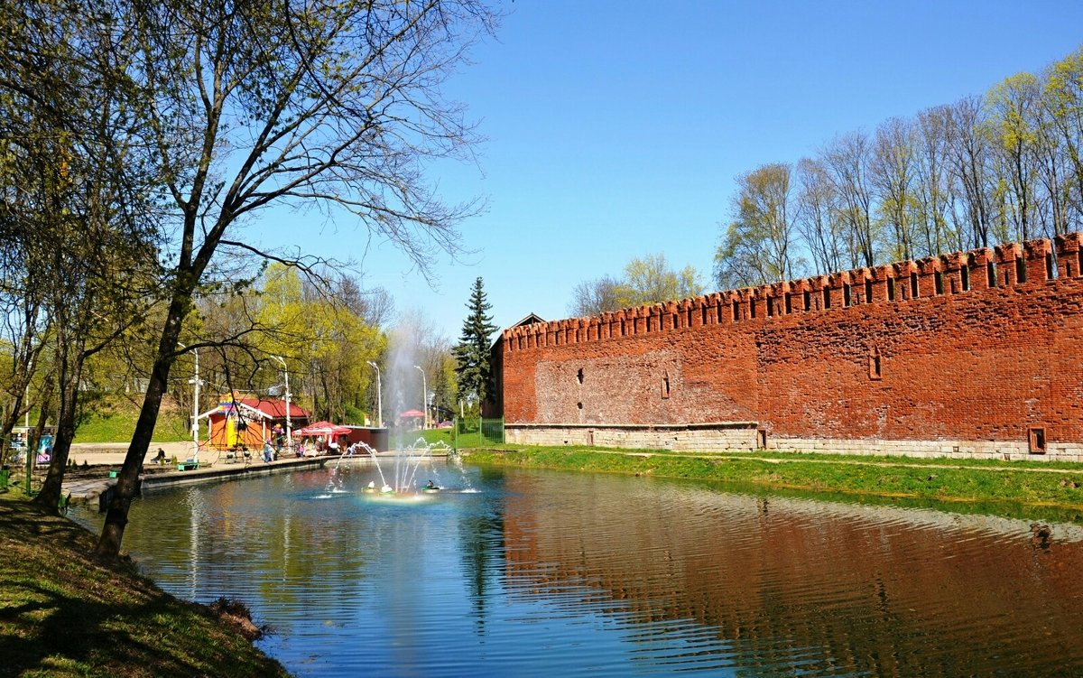 Смоленск в апреле - Милешкин Владимир Алексеевич