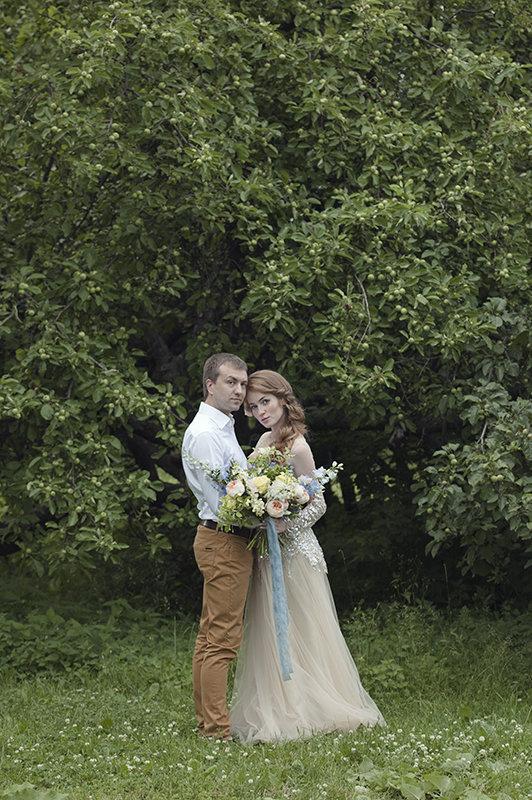 Свадебная фотосессия в Коломенском - Мария Богданова